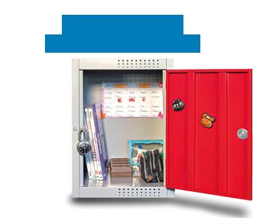 Foto de armário escolar